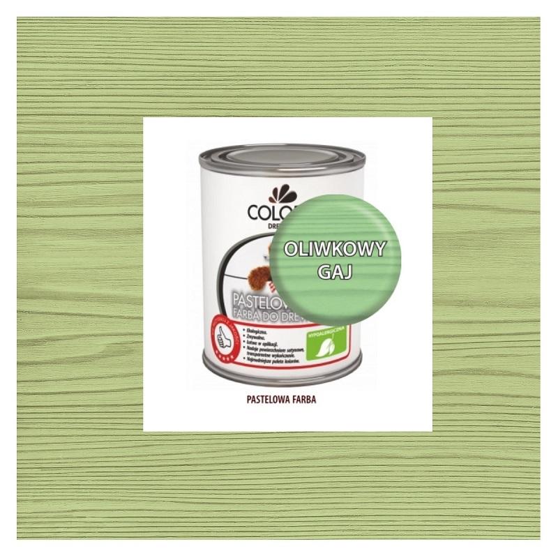 Najnowsze Pastelowa Farba Do Drewna Colorit 0,375 l OLIWKOWY GAJ LI35