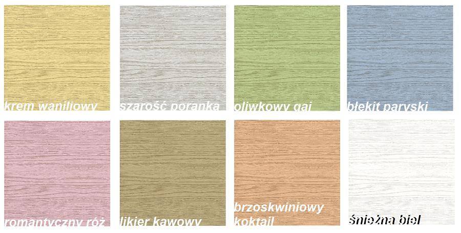 Chłodny Pastelowa Farba Do Drewna Colorit 0,375 l OLIWKOWY GAJ DH84